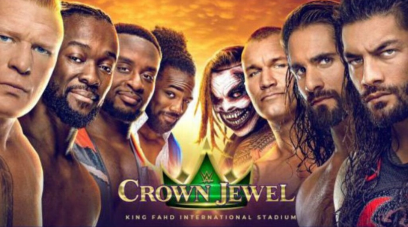 WWE Crown Jewel 2019 Date and Time in India, Match Card