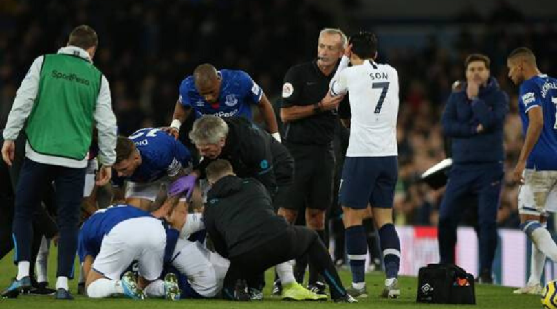 Andre Gomes injury Son challenge leaves Andre Gomes with a broken ankle