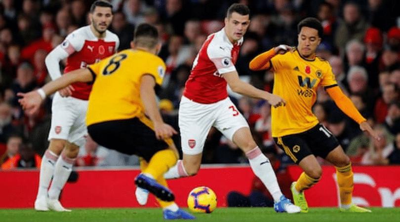 Arsenal vs Wolverhampton Lineup