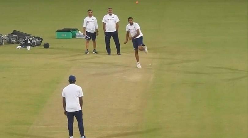 WATCH: Ravi Ashwin bowls left-handed ahead of IND vs BAN pink-ball Test at Eden Gardens