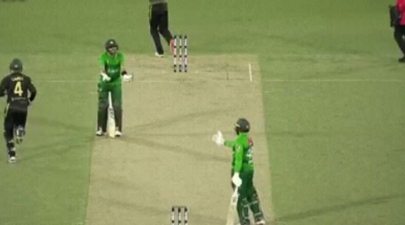 WATCH: Babar Azam furious with Asif Ali for refusing run and getting out in Canberra T20I
