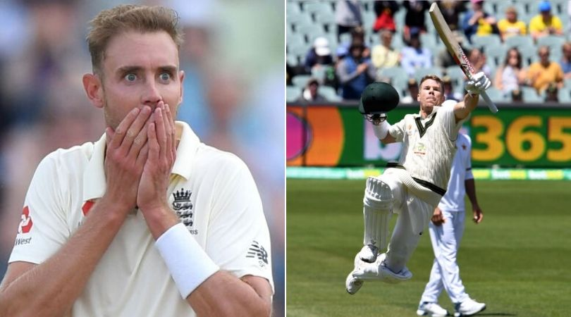 Stuart Broad reacts on Tim Paine's declaration denying David Warner of world record in Adelaide