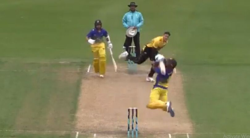 WATCH: Neil Broom plays incredible scoop off Hamish Bennett in The Ford Trophy