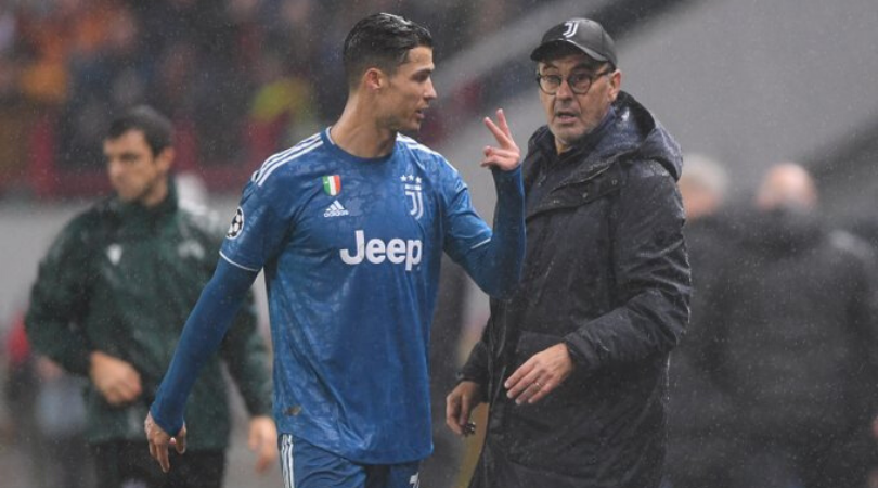 Cristiano Ronaldo news Maurizio Sarri explains the Juevntus Star's angry reaction at being substituted