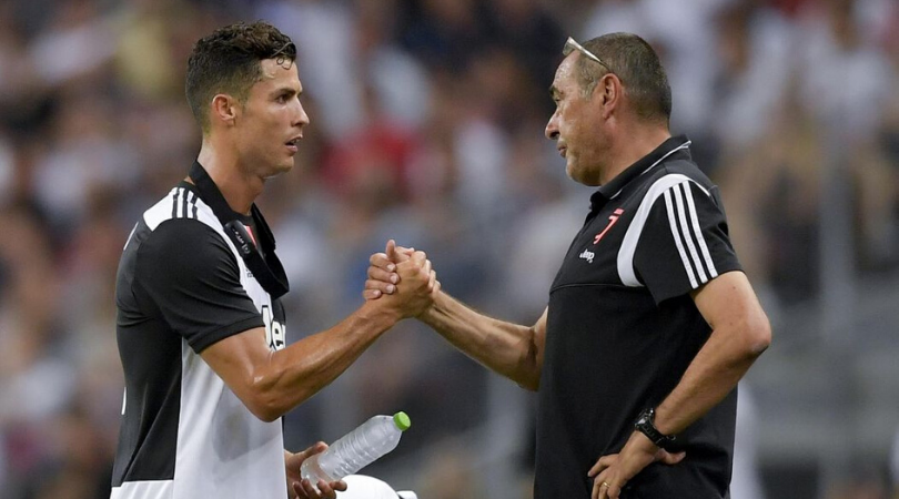 Cristiano Ronaldo opens up on Maurizio Sarri subbing him in his last 2 appearance for Juventus
