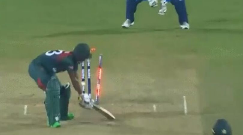 WATCH: Shivam Dube's pinpoint yorker dismisses Mohammad Naim in Nagpur T20I