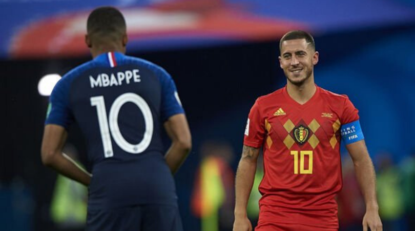 Eden Hazard adds fuel to Kylian Mbappe Real Madrid transfer rumours