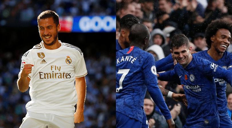 Eden Hazard opens up on Chelsea's title chances