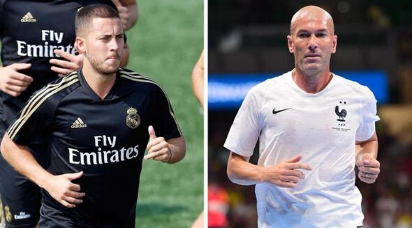 Eden Hazard unwittingly reveals Zinedine Zidane tapped him up for Real Madrid transfer in 2016