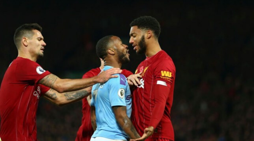 Fan footage reveals how Liverpool fans left Raheem Sterling disconcerted during Man City's loss at the Anfield