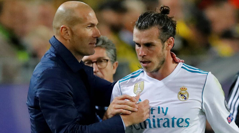 Gareth Bale Zinedine Zidane appeals to Real Madrid fans not to boo the Welsh winger