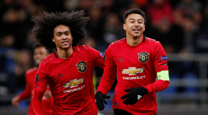 Jesse Lingard scores his first goal for Man Utd in 10 months