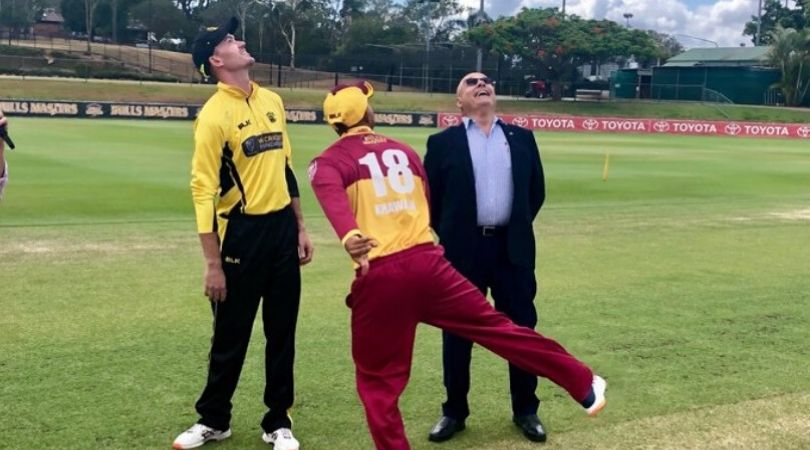 WATCH: Usman Khawaja tosses coin in peculiar manner before Marsh Cup final vs Western Australia