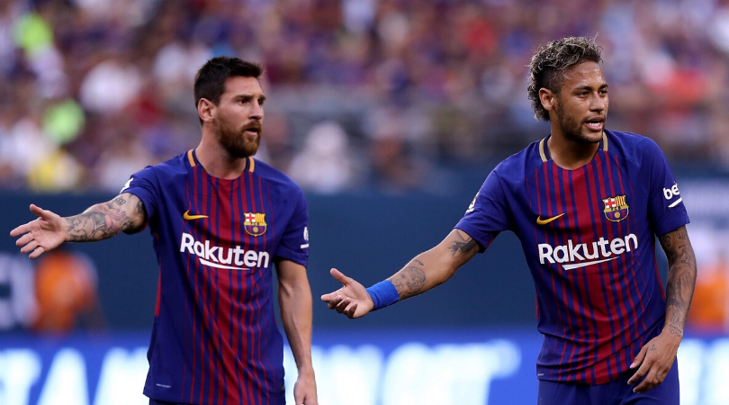 Lionel Messi WhatsApp message to Neymar after 4-0 loss to Liverpool in the UCL revealed