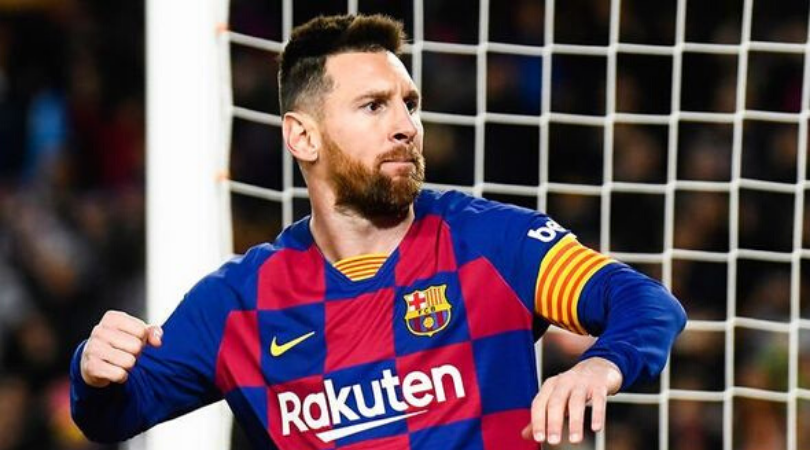Lionel Messi compilation showing him tricking his opponents without touching the ball proves what a genius he is
