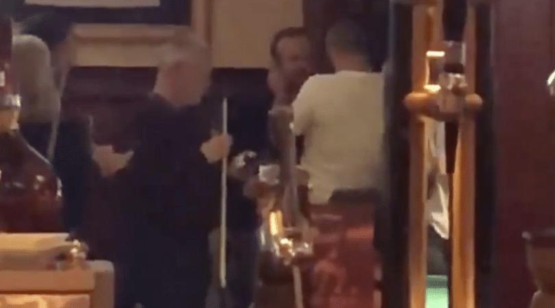 Man Utd fan gives Ed Woodward Wet Willy in a bar in Kazakhstan