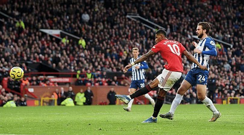 Marcus Rashford produces miss of the season minutes after scoring a banger vs Brighton