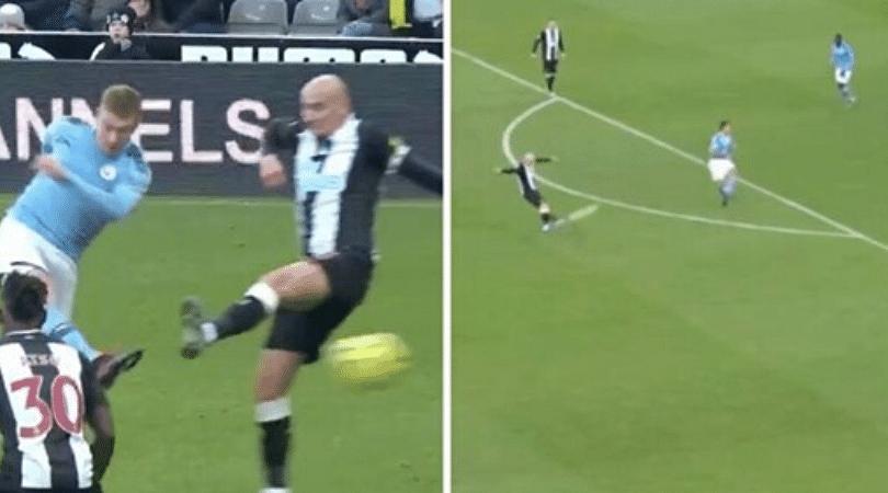 Newcastle United vs Man City Kevin de Bruyne and Jonjo Shelvey score screamers in 2-2 draw