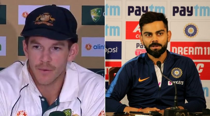 WATCH: Tim Paine taunts Virat Kohli over playing day-night Test at Gabba during India's tour of Australia in 2020