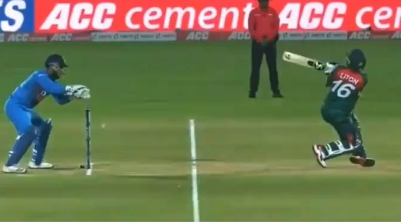 Rishabh Pant blunder vs Bangladesh: Watch Liton Das survives post Indian wicket-keeper's error in Rajkot