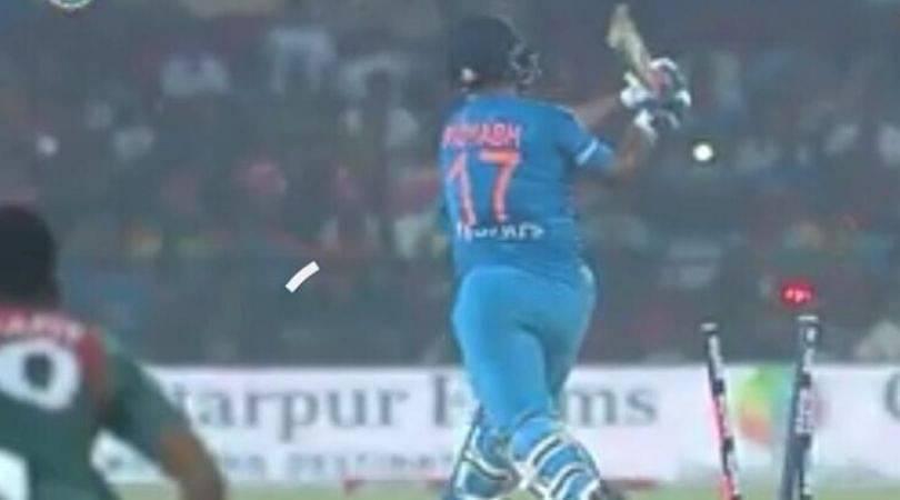 Twitter slams Rishabh Pant for playing rash shot in 3rd T20I vs Bangladesh
