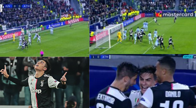 Paulo Dybala leads Juventus to a win with a spectacular free kick vs Atletico Madrid