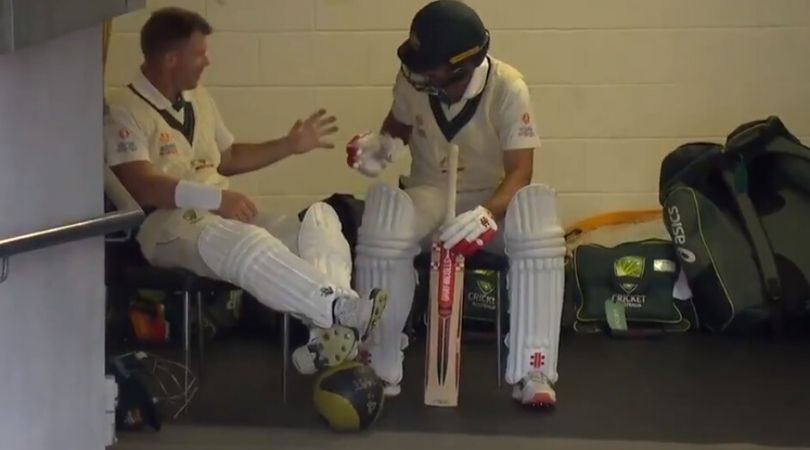 WATCH: David Warner and Joe Burns play Rock Paper Scissors before opening batting in Adelaide Test