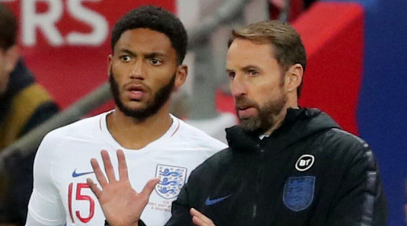 Raheem Sterling claps for Joe Gomez as fans bizarrely boo him while he came on against Montenegro