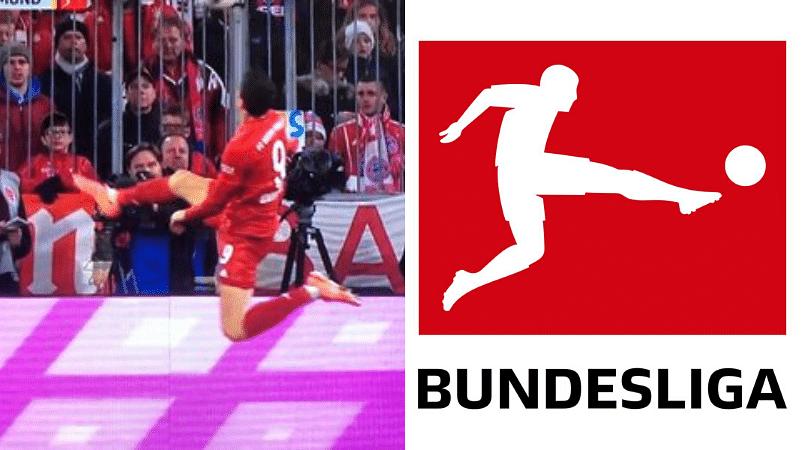 Robert Lewandowski produces an unreal touch to sensationally become Bundesliga's logo