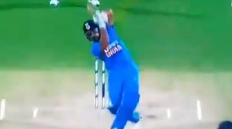 WATCH: Rohit Sharma hits glorious six off Shafiul Islam during masterly knock vs Bangladesh