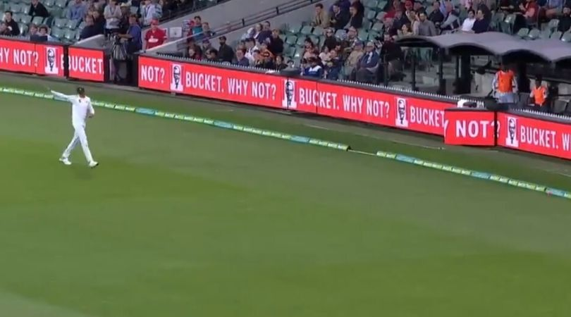 WATCH: Shaheen Afridi misjudges ball to leak four runs in Adelaide Test
