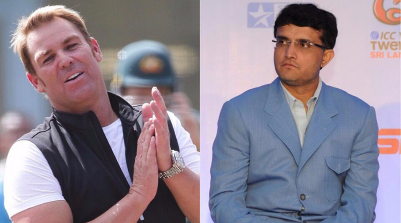 Shane Warne requests India to play Day-Night Test vs Australia, Sourav Ganguly responds