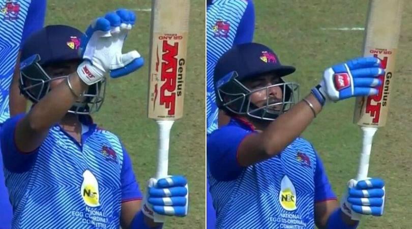 WATCH: Prithvi Shaw emulates Virat Kohli's celebration after comeback in Syed Mushtaq Ali Trophy 2019-20