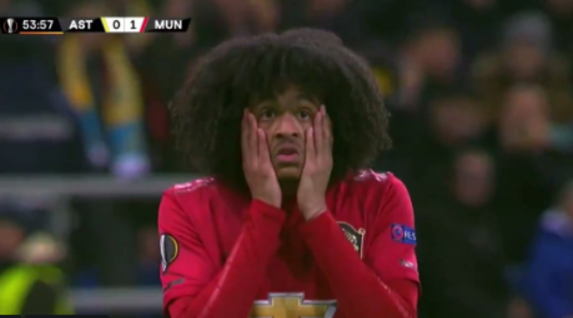 Tahith Chong missed a shocking open goal seconds before Astana equaliser