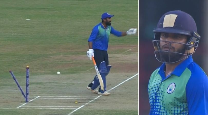WATCH: Rahul Tewatia lashes out at Himanshu Rana after getting run-out vs Maharashtra in Syed Mushtaq Ali Trophy 2019-20