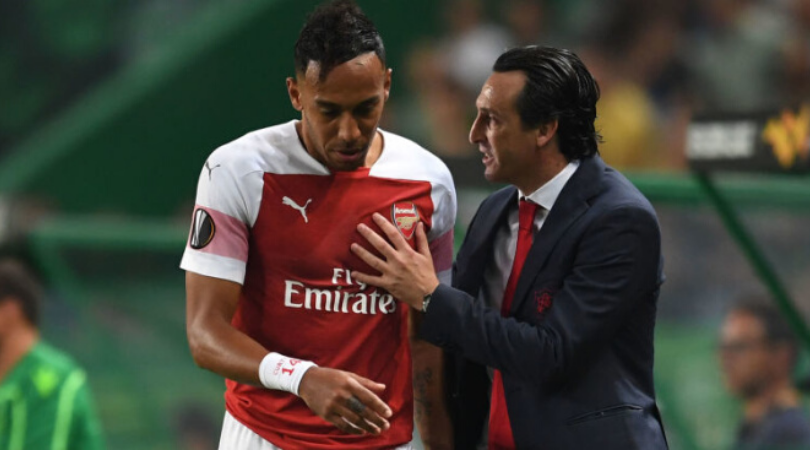 Unai Emery explains why he chose Aubameyang as Arsenal captain