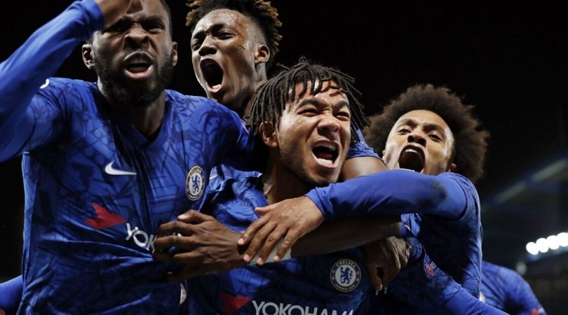 Chelsea fans who left early after conceding against Ajax tried to get in after Blues make comeback