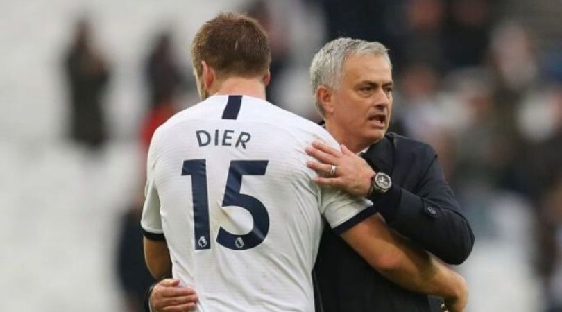 Jose Mourinho makes tactical substitution before half-time while Spurs losing 2-0