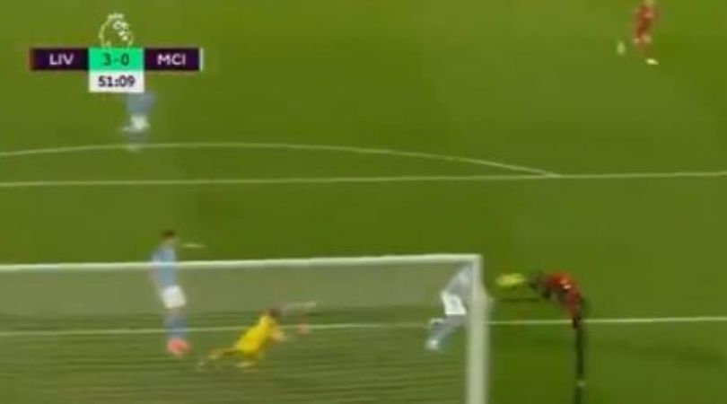 Sadio Mane goal Vs Manchester City: Watch Mane's diving goal from Henderson's incredible cross