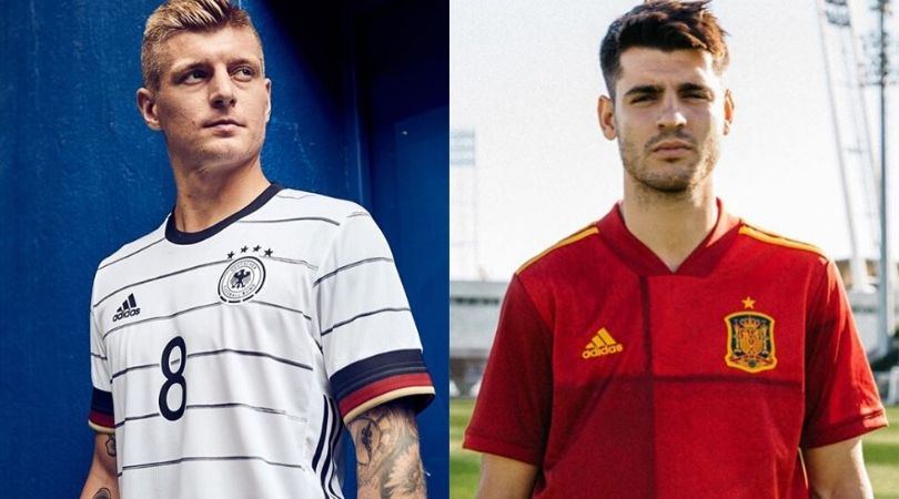 Euro 2020 Jerseys Revealed: Adidas unveils home jerseys of 5 different nations for Euro 2020