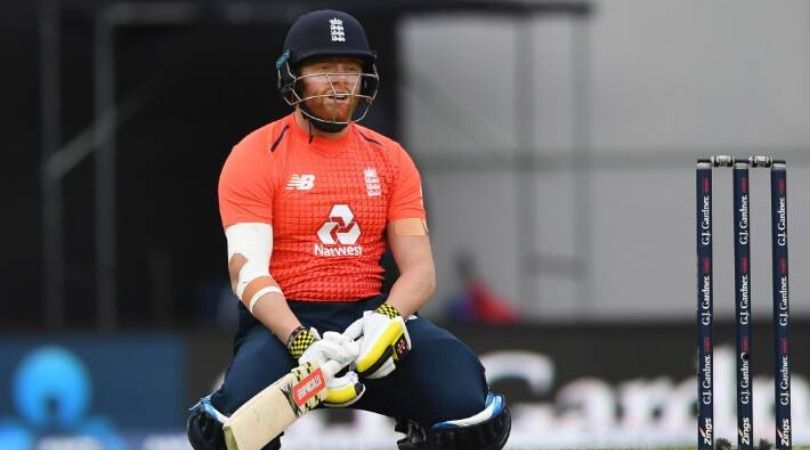 ICC reprimands Jonny Bairstow for inappropriate reaction to dismissal in 5th T20I against Newzealand