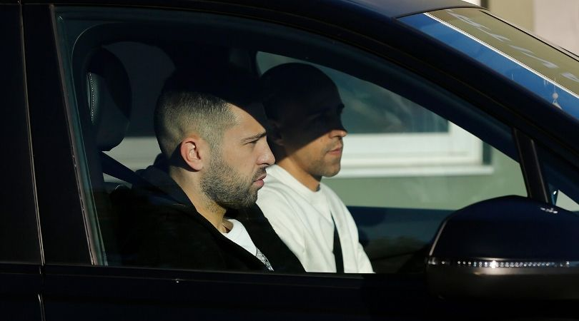 Jordi Alba's father still drives him to Barcelona training ground even at age 30