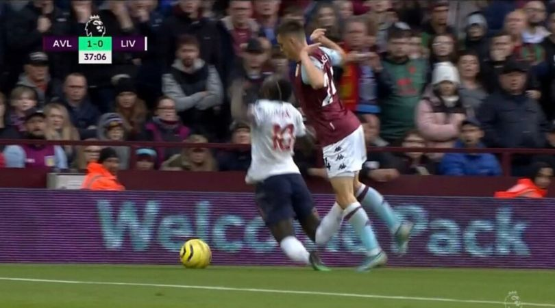 Sadio Mane Dive Vs Aston Villa: Watch Mane making bizarre dive to get yellow card against Aston Villa: