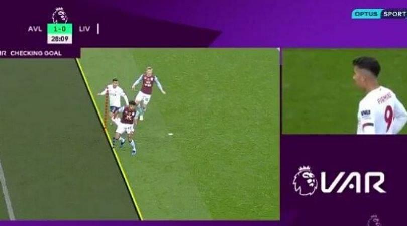 Liverpool VAR Controversy: Roberto Firmino denied goal Vs Aston Villa for finest of margin