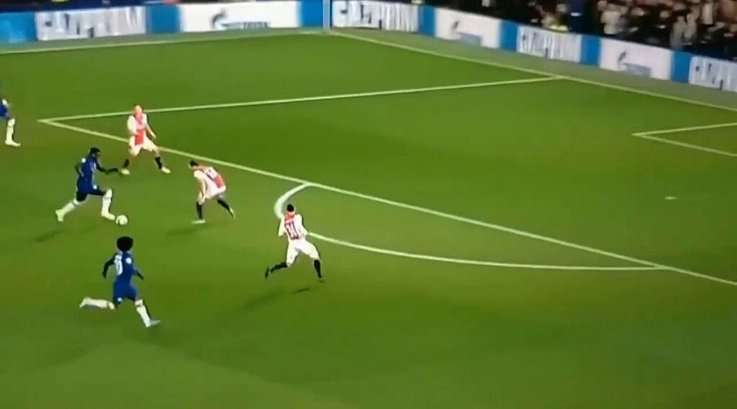 Kurt Zouma's insane dribble leaves fans mesmerized in Champions League match against Ajax