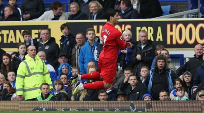 Liverpool fans want Sadio Mane to emulate Luis Suarez's 'diving celebration' in front of Pep Guardiola