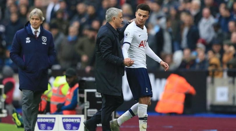 Jose Mourinho drops massive praises for Dele Alli after West Ham win in his first game in charge