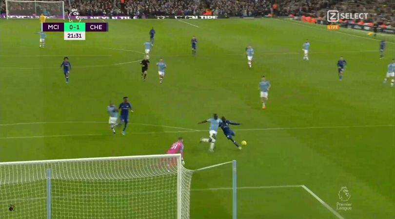Manchester City Vs Chelsea: Watch N'Golo Kante finish after splendid pass by Mateo Kovacic