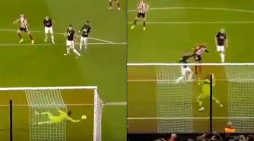 Sheffield United Vs Manchester United: David De Gea makes terrific double save