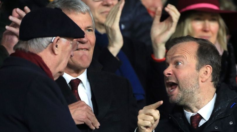 Sir Alex Ferguson allegedly seen arguing with Ed Woodward in pictures